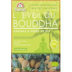 Eveil du Bouddha Ananas & Herbe de blé BIO