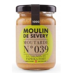 Moutarde à l'oignon et paprika fort