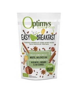 Easy Breakfast Bio Noisette, Lin et épices Chaï - 350g