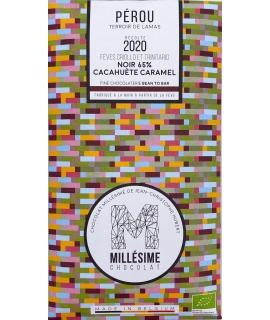 PEROU NOIR 65% - cacahuète-caramel