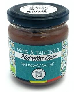 Pâte à tartiner MADAGASCAR Lait - Noisettes Coco