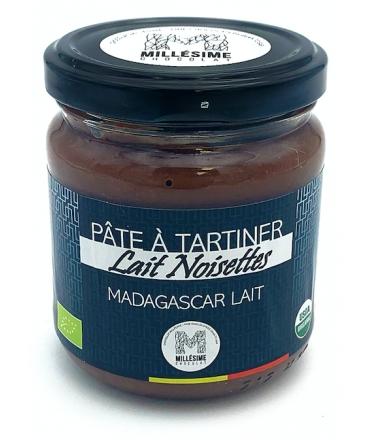Pâte à tartiner MADAGASCAR Lait - Noisettes